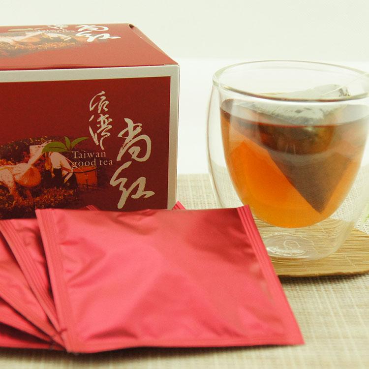【台A茶 taiAtea】尚紅原片 日月潭紅茶茶包禮盒 2.7g/包,20入