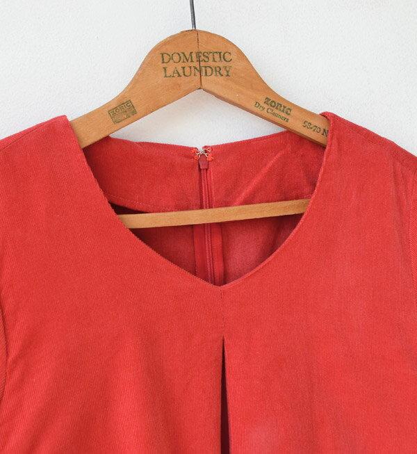 日本e-zakka / 燈芯絨素色長版連衣裙 / 32621-1801322 / 日本必買 代購 / 日本樂天直送(7300) 7