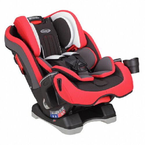 GRACO MILESTONE™ 長效型嬰幼童汽車安全座椅-紅【悅兒園婦幼生活館】