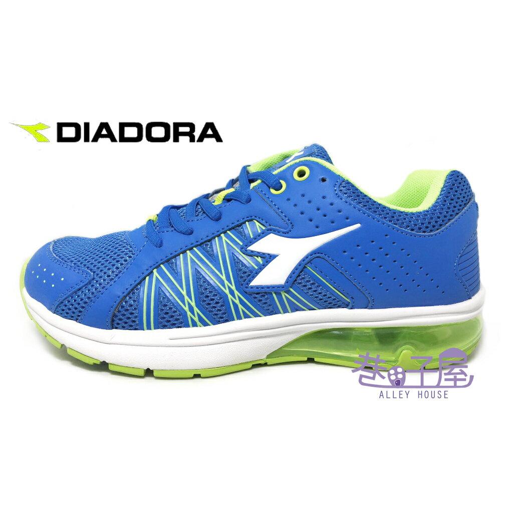 【巷子屋】義大利國寶鞋-DIADORA迪亞多納 男款E寬楦乳膠動能氣墊運動慢跑鞋 [2816] 藍 超值價$690