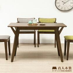 【日本直人木業】WANDER北歐美學120CM餐桌