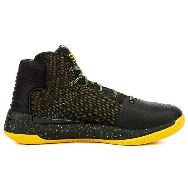 《出清59折》Shoestw【1298308-002】UNDER ARMOUR UA 籃球鞋 CS 3 ZERO 高筒 CURRY 黑黃 男生 1