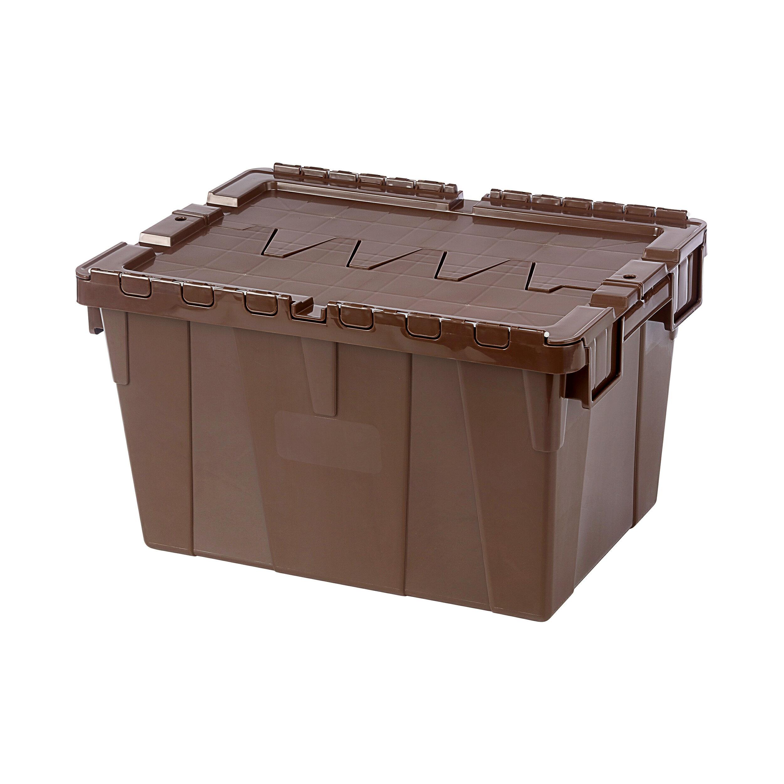 搬運物流箱/分類高手/MIT台灣製造 KEYWAY 3號物流箱(咖啡) BL50-2  KEYWAY聯府