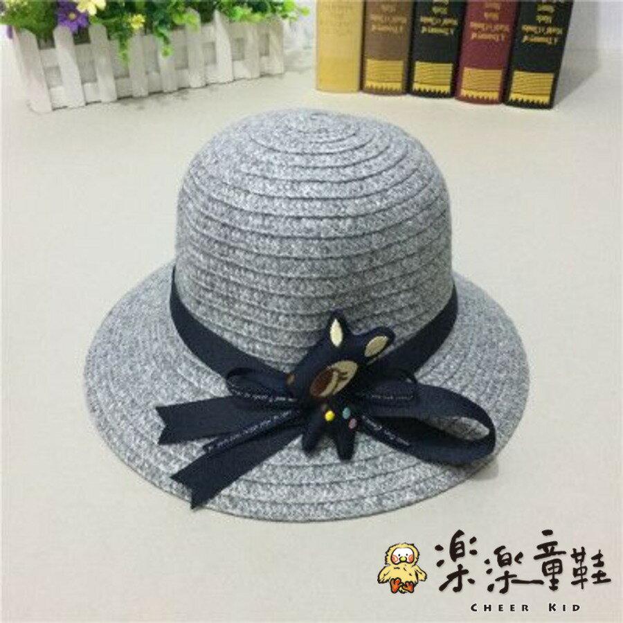 【樂樂童鞋】H010 - 時尚毛尼親子帽