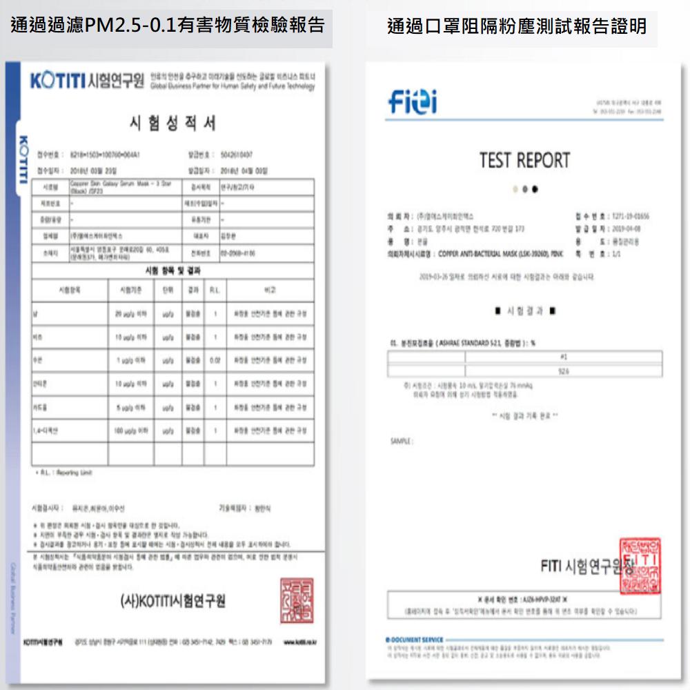 韓國抗菌奈米銅口罩(特殊韓國專利微電流奈米銅織布製成) 1入 / 盒 10色可選 口罩 / 成人口罩 / 男女口罩 9