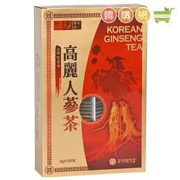 韓國高麗元人蔘茶300g細緻顆粒容易溶解