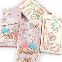 小熊維尼周邊商品推薦【Sanrio 】iPhone 6 Plus/6s Plus 皮革彩繪多功能兩用皮套(可拆殼)-雙子星