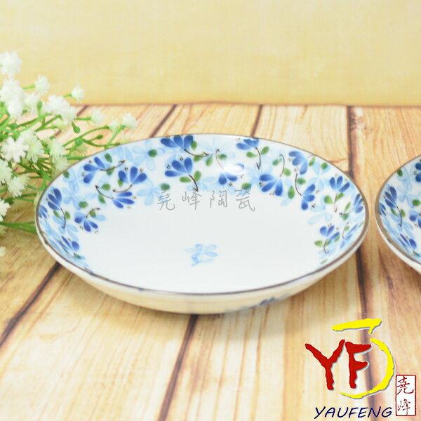 ★堯峰陶瓷★餐桌系列 日本美濃燒 5.25吋 芽 圓盤 餐盤 小盤