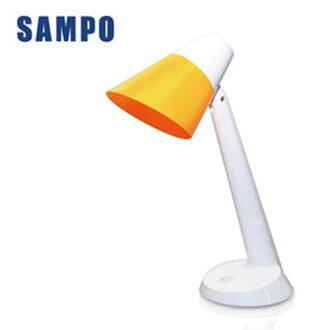 【SAMPO 聲寶】LED檯燈 (燈泡可換式 LH-U1603EL)