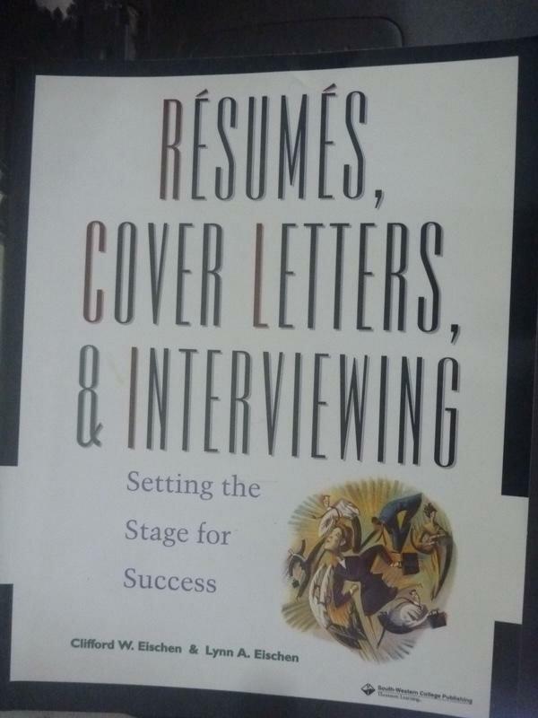 【書寶二手書T1/財經企管_WFS】Resumes, cover letters & interviewing_CLIFFORD