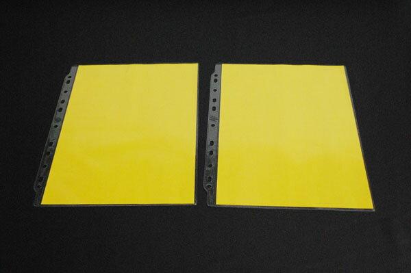 鼎盛11孔PVC顆粒皮內頁附紙 /#731/A4/100張/包