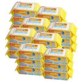 Nuby EDI超純水柔濕巾(88抽/3包x8串24包|箱購)