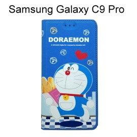 哆啦A夢皮套[麵包]SamsungGalaxyC9Pro(6吋)小叮噹【正版授權】