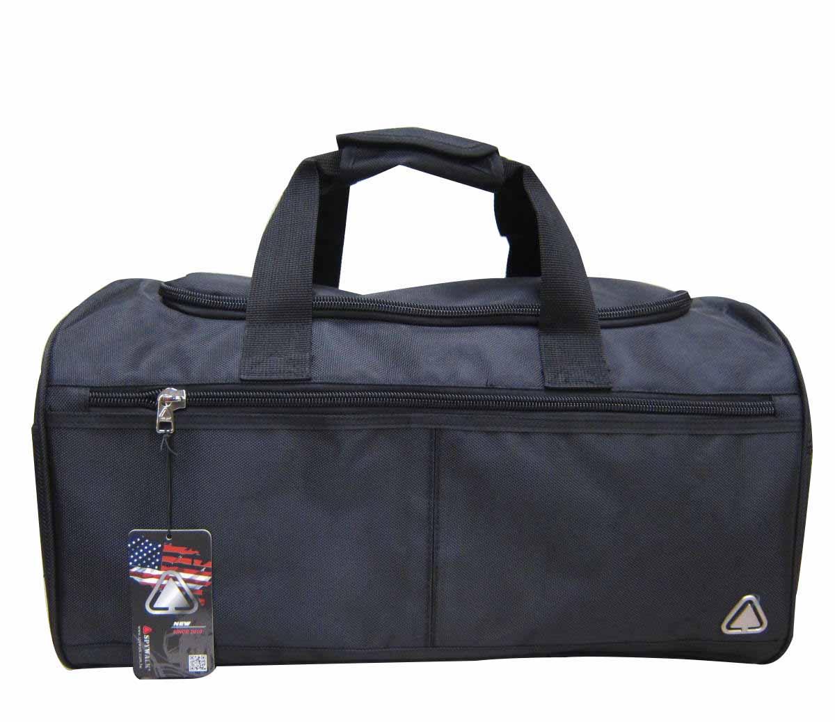 ^~雪黛屋^~SPYWALK旅行袋防水尼龍布U型大開口 可手提肩背斜側背外出旅行休閒大容量
