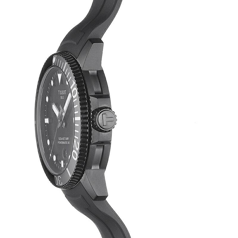 🔥火熱到貨🔥TISSOT 天梭錶 SEASTAR 1000海洋之星300米潛水機械錶T1204073705100 黑 / 43mm 3