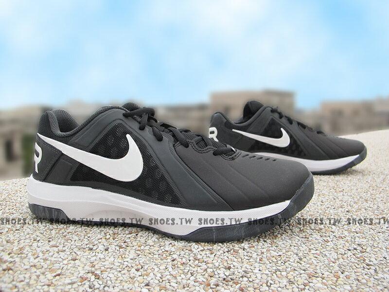 Shoestw【719924-003】NIKE AIR MAVIN LOW 籃球鞋 黑白 室外