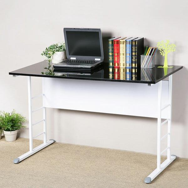 工作桌 書桌 辦公桌 電腦桌《YoStyle》馬克120cm辦公桌-亮面烤漆(二色可選)