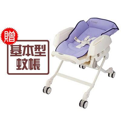【悅兒樂婦幼用品?】Combi 康貝 Letto 手動餐椅搖床-ST款(薰衣草)【送基本型蚊帳x1】