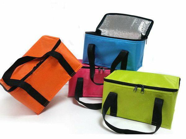 BO雜貨【SV6156】時尚炫彩錫箔保溫冰包 便當包 冰袋 保溫袋