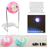 【aife life】LED桌燈/檯燈/攜帶型/可拆卸式/組合式/照明 ,按鈕式開關好用好亮好方便