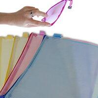 【aife life】A4單層拉鍊袋/收納袋/夾鏈袋/文件袋,好攜帶當贈品禮品最大方!!