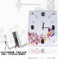 【aife life】歐風時尚玻璃時鐘(小)創造個性生活與掛鐘壁鐘的完美結合,辦公室、居家最好用的裝飾品