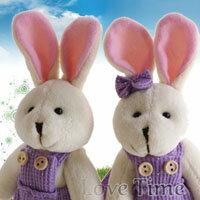 【aife life】手工編製婚禮兔/情侶兔娃娃鑰匙圈,超優質生日禮物、婚禮小物、情人節最佳禮物,甜蜜滿分