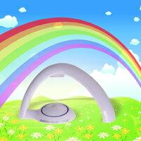【aife life】幸運彩虹投影燈/彩虹機,星空彩虹燈小夜燈製造氣氛燈幸運彩虹