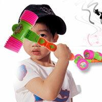 【aife life】亮彩雙頭玩具嗶嗶槌(大),讓孩子可以快樂的打節奏,還可以吹出聲音喔