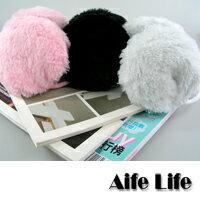 【aife life】日韓卡哇依風-毛絨保暖後戴式耳罩,秋冬必備超可愛!!
