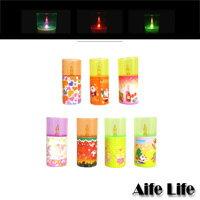 【aife life】LED聖誕蠟燭燈(圓)/氣氛燈/聖誕裝飾/聖誕樹燈具,圓形蠟燭燈,呼氣就可感應熄滅!!