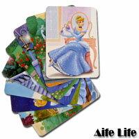 【aife life】童話公主系列故事卡/卡片/床邊故事/王子公主,卡片背面都有故事的小敘述可跟小寶貝說床邊故事,生動又可愛!!