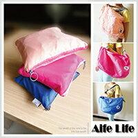 【aife life】三揹法折疊可收納包/韓系3way包購物袋肩背包斜背包後背包旅行袋