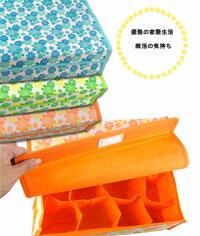 【aife life】16格不織布製收納盒/置物盒,收納毛巾內衣褲都方便,不用時可摺疊收藏
