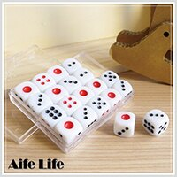 【aife life】娛樂用1號小骰子/骰盅用骰子麻將遊戲專用遊樂玩家