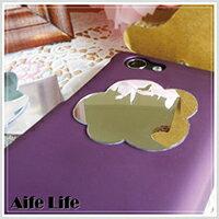 【aife life】韓版多款造型鏡面貼/隨身鏡子貼Mirror Stickers卡通手機鏡子貼紙