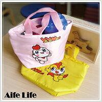 【aife life】卡通YOYO保溫保冷袋/便當袋飯盒袋手提袋野餐袋保冰袋保暖袋正版授權