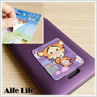 【aife life】迪士尼手機觸控螢幕擦拭貼布/台灣製造 螢幕絨布貼 螢幕擦式貼紙 手機擦式貼