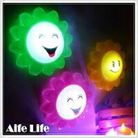 【aife life】向日葵拍拍燈/按拍燈 掛燈 小夜燈 居家擺飾最佳燈飾 小花拍拍燈 最佳贈品禮品