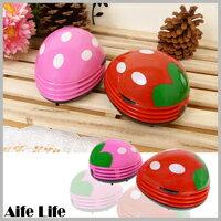 【aife life】草莓吸塵器/水果吸塵器/桌上型吸塵器,筆電、鍵盤、書桌的清潔小幫手!
