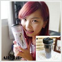【aife life】台灣製客製化隨行杯/相片個性化印製畢業情人節生日聖誕節禮品結婚禮小物