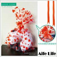 【aife life】包裝彩球束帶/包裝紙禮物袋禮品袋平口包裝袋