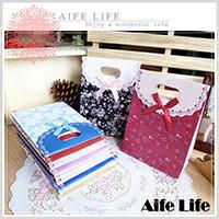 【aife life】小巧可愛黏式禮物袋-小/禮品袋/飾品袋/紙袋,量大可印LOGO,生日、情人節、各種節慶最佳禮贈品