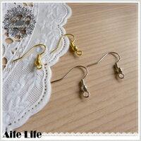 【aife life】DIY耳勾式耳環/耳飾 首飾 手工耳環 DIY飾品 飾品零件 耳夾式耳環 贈品禮品