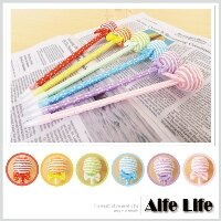 【aife life】棒棒糖造型原子筆/零食/創意/文具宣傳/開幕活動/婚禮小物/禮贈品