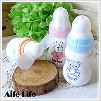 【aife life】如baby般可愛的牛奶奶瓶造型小型電風扇,卡哇依造型讓人愛不釋手,送禮自用兩相宜