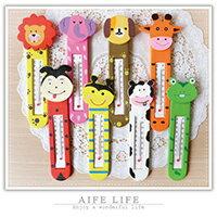【aife life】多款可愛造型木質溫度計,有小磁鐵可吸在冰箱上