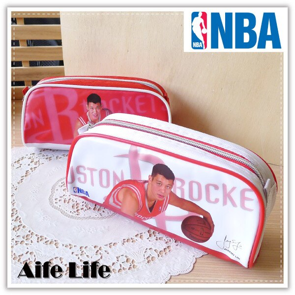 【aife life】林書豪筆袋/正版授權NBA明星球員筆袋/收納包/收納袋/萬用包/化妝包/眼鏡袋/鉛筆盒