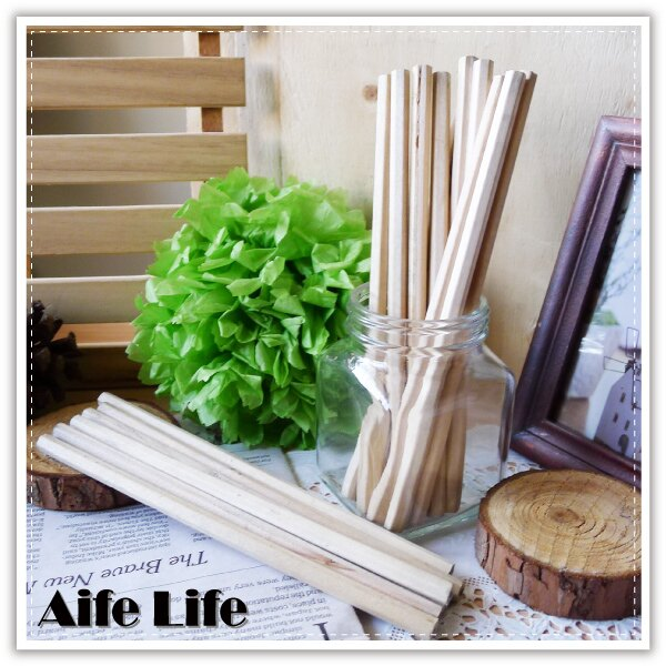 【aife life】六角原木鉛筆/6角鉛筆/素描筆/長鉛筆/可削式鉛筆/木頭鉛筆/禮品贈品
