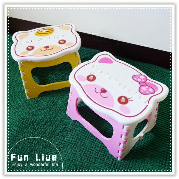 【aife life】可愛卡通折疊椅/收納椅/小折凳/凳子/兒童椅/烤肉露營戶外休閒/禮品贈品